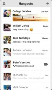 Google's Hangouts May Offer SMS Messaging After All