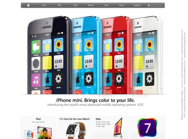 New Budget iPhone Concept Uses Flat iOS 7 Design