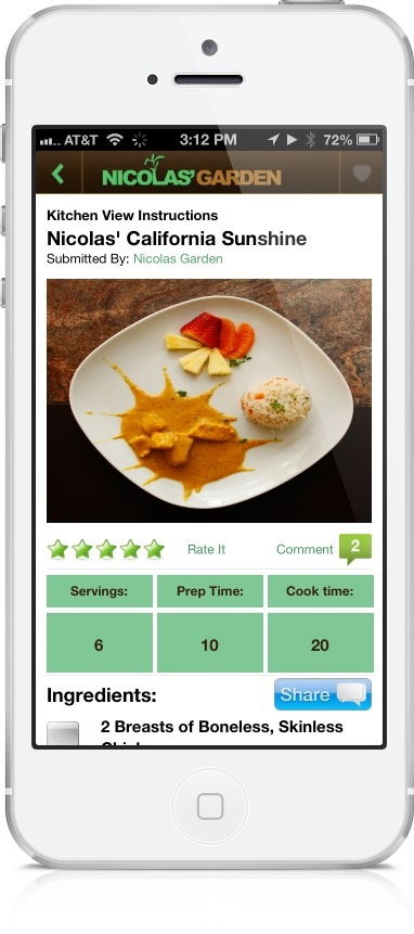 Nicolas' Garden Is A New Recipe App For Kids, By Kids