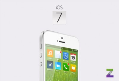 This Interesting iOS 7 Concept Brings A Stark Visual Change