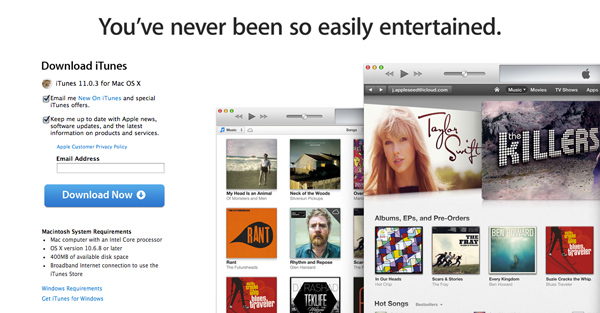 Apple Unveils Version 11.0.3 Of iTunes
