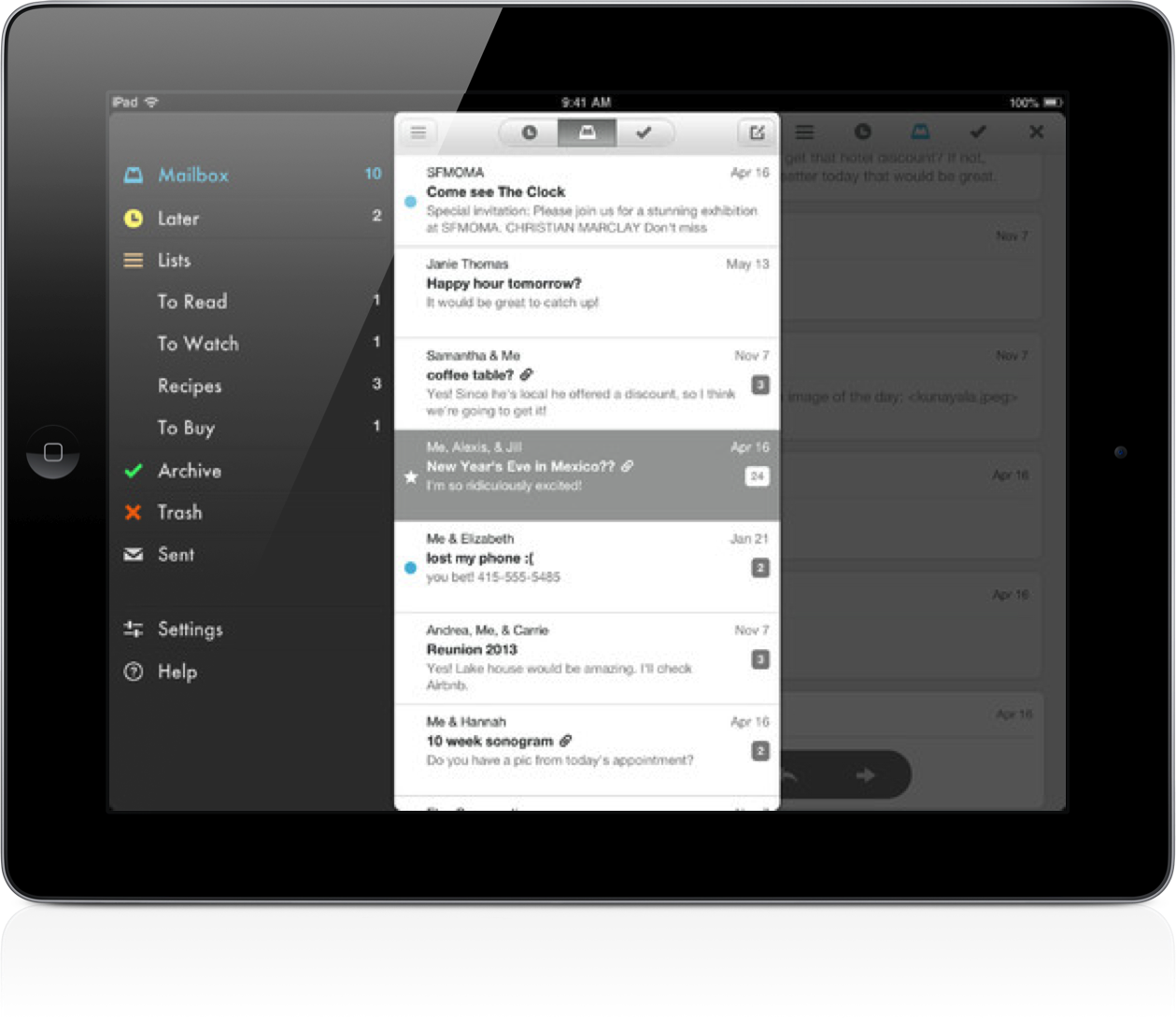 No Reservations Are Required As Popular Mailbox App Launches On iPad