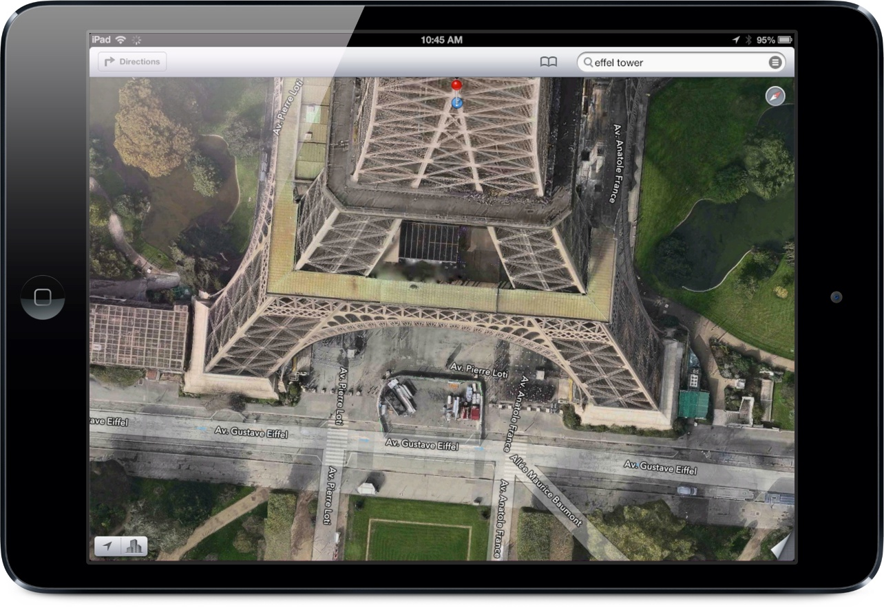 Apple's 3-D Flyover Maps Feature Says Bonjour To Paris, France