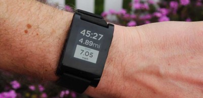 RunKeeper Update Brings Integration With The Pebble Smartwatch
