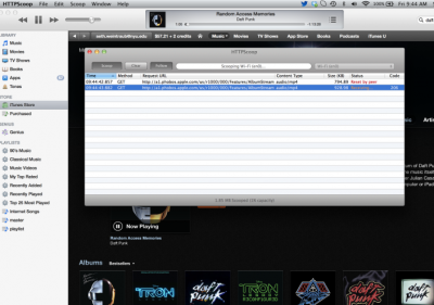 Apple's Streaming Preview Of Daft Punk's New Album Leads To Free Download