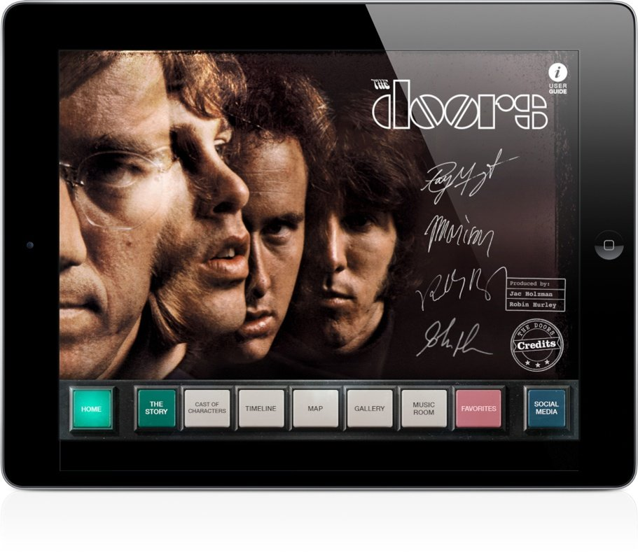 Jim Morrison And The Doors Are Headlining A New iPad App