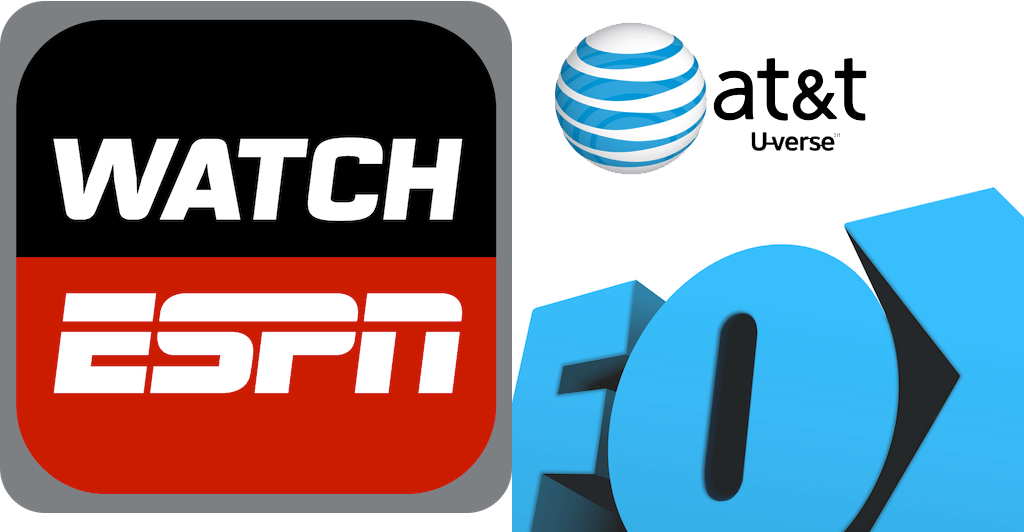 AT&T U-Verse Customers Can Now Stream Video Content From ESPN And Fox
