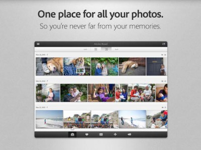Adobe Revel 2.0 Features Redesigned Interface Plus New Explore And Activity Views