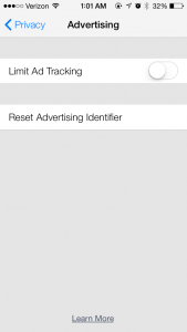 Improved Privacy Changes In iOS 7 To Keep Advertisers From Accessing Personal Data