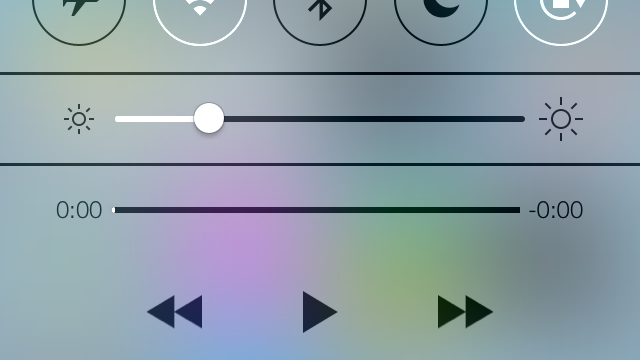 Check Out iOS 7's All New Control Center In This Hands-On Preview Video