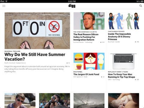 Digg Reader Launches On iOS: Will You Dig It As Your Google Reader Replacement?