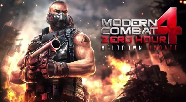 Modern Combat 4: Zero Hour's 'Meltdown' Update Available Now