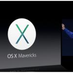 Apple's Announces OS X 10.9 Mavericks