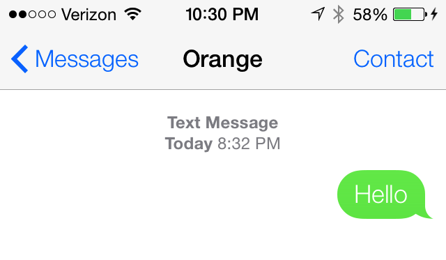 Hands-On With iOS 7's Messages App, Featuring Contact-Blocking
