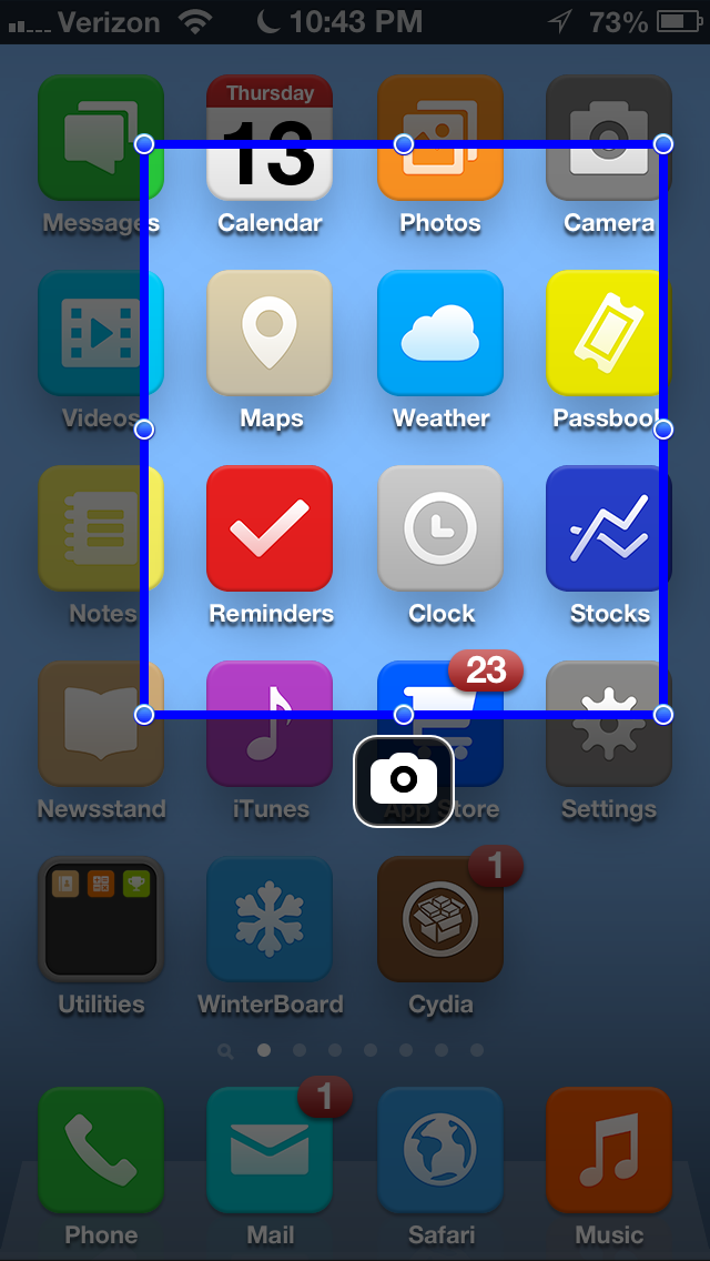 Cydia Tweak: Easily Crop iPhone Screenshots With ScreenshotPlus