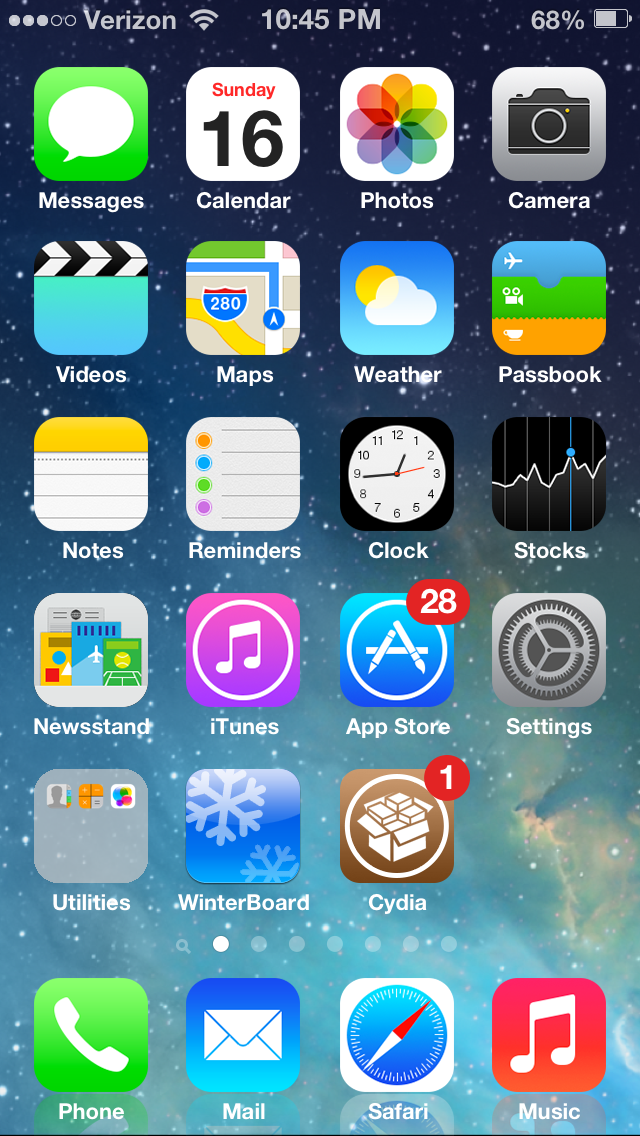 Cydia Tweak: How To Make iOS 6 Look Like iOS 7