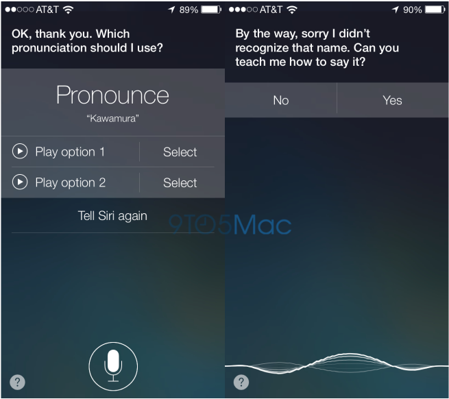 In iOS 7, You Can Teach Siri To Pronounce Names Correctly