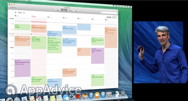 Apple's All-New Calendar App In OS X Mavericks Sure Looks Good