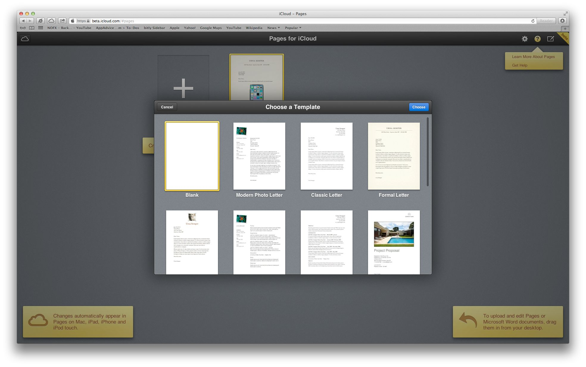 AppAdvice Goes Hands-On With iWork For iCloud Beta