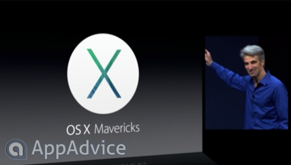 Apple's Announces OS X 10.9 Mavericks
