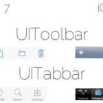 One More Comparison Image Locates iOS 7 UI Elements Alongside iOS 6