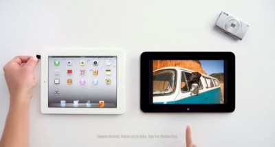 Microsoft Once Again Attacks Apple's iPad In New TV Ad