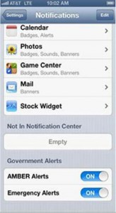 AT&T Enables Government Emergency Alerts For iPhone Users