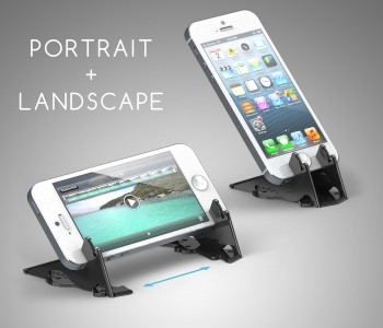 New Kickstarter Project Offers Backers A Credit Card-Sized iPhone Tripod