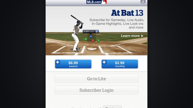 Go Get It, Dads: MLB.com At Bat '13 In Half Price Father's Day Sale