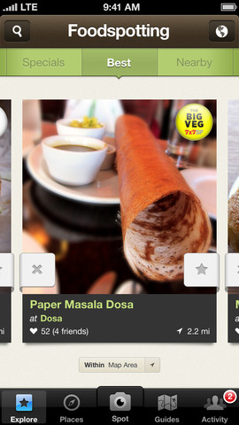Foodspotting 4.0 Introduces Food Camera To Help You Take Mouthwatering Photos