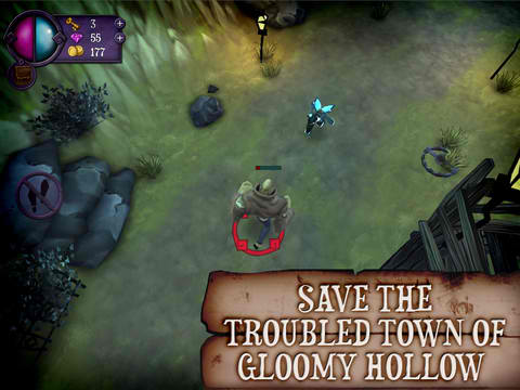 Lead A Trio Of Underworld Misfits In Chillingo's New Action RPG, Gloomy Hollow