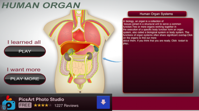 Quirky App Of The Day: How Well Do You Know The Human Organ?