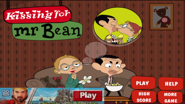 Quirky App Of The Day: Kissing For Mr. Bean Is Only Acceptable While Distracted