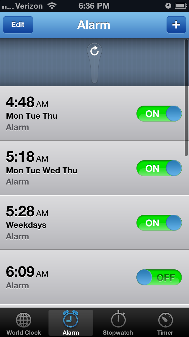 Cydia Tweak: Disable All Of Your Alarms With A Single Swipe In The Clock App