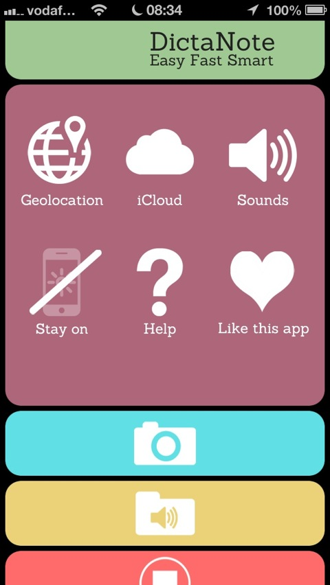 Record And Share Your Thoughts With DictaNote For iPhone