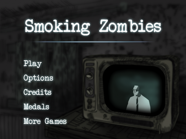 Quirky App Of The Day: Smoking Zombies Have Taken 'Health Hazard' To A New Level