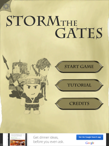 Quirky App Of The Day: Storm The Gates With A Customized Army
