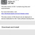 Apple Releases The Second iOS 7 Beta, Download Now OTA