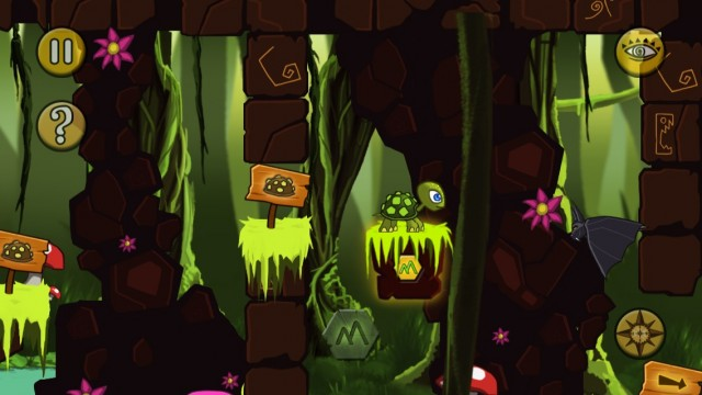 Ajapa Is A Side-Scrolling Platform Puzzle Game Played At A Turtle's Pace