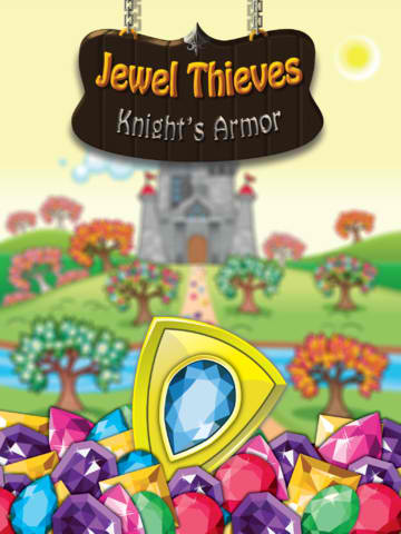 Embark On A Medieval Match-Three Puzzle Adventure In Jewel Thieves: Knight's Armor