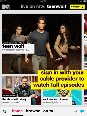 Watch 'Awkward,' 'Teen Wolf' And Other MTV Shows On Your iDevice With MTV 2.0