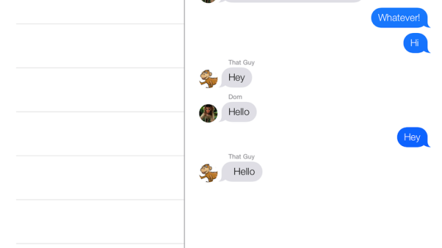 Hands-On Video: Improved Avatar And Timestamp Support In iOS 7's Messages App