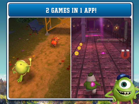 Catch Archie And Take The Toxicity Challenge In Disney's Monsters University