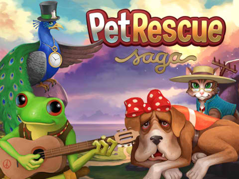 King's Social Gaming Saga Continues On iOS With Block-Blasting Pet Rescue Saga
