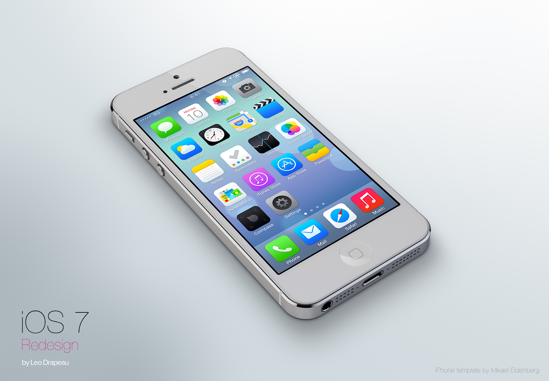 Don't Like The Look Of iOS 7? Consider These Alternative Designs