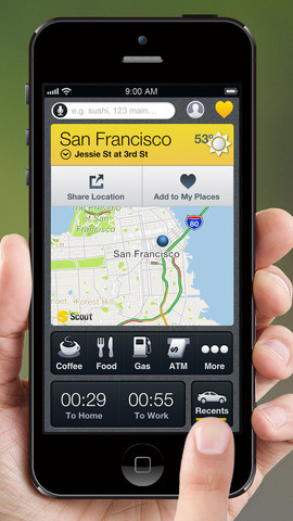 New Scout Update Features Map Zoom, Street-Level Traffic And Weekend Events
