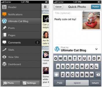 WordPress For iOS Gets A Great New Look In Latest Update