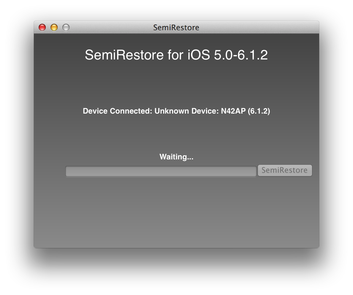 Preview: SemiRestore Will Restore Your Device And Keep Its Jailbreak
