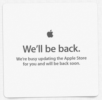 As Apple's Keynote Approaches, The Online Store Closes For Business
