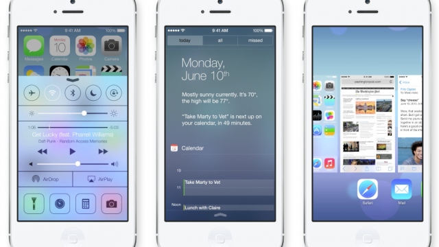 Apple's iOS 7 Offers An Opportunity For New, Emergent Devs To Succeed